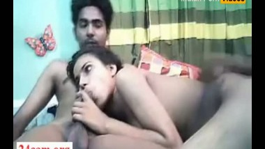 Home sex and blowjob video of desi girl