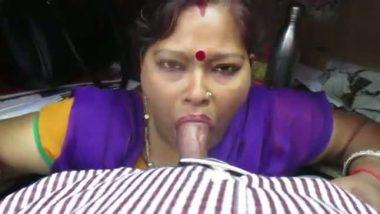 South Indian aunty deep throat blowjob