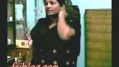Horny bhabi with her devar in black churidar
