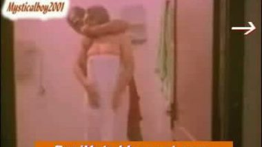 desi sexy girl bathing in towel by revealing assets and servant forcin