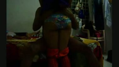 Tight ass of cousin sister grabbed