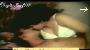 White bengali aunty in bra and panty exposing big gaand riding top on