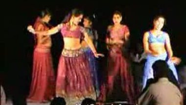 Telugu Hot Girls Night stage dance