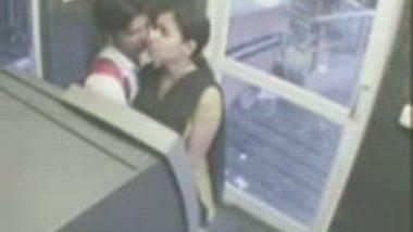 Pakistani Arab Girlfriend Scandal At ATM Room