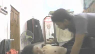 Shy Kochi teen girl gets her big boobs sucked!