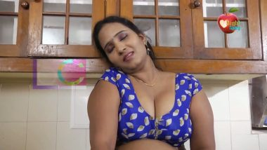 South Indian big boobs actress in Short movie scene