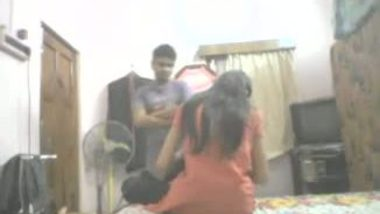 Desi college girl hidden cam home sex with lover