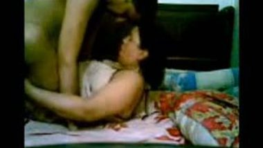 Nepali mature aunty hardcore hidden cam sex with young tenant