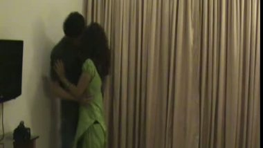 Latest Indian sex mms of bhabhi hidden cam hardcore sex with lover