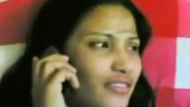 Bengali bhabhi talking to hubby while fucking boyfriend