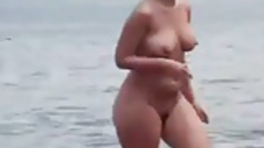 Aunties nude at beach