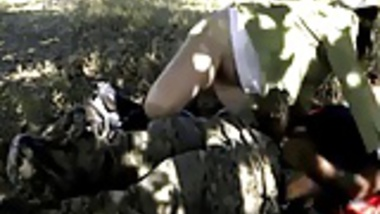 fun at river bank