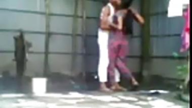 Young Shameless Bengali Couple Doing Open Air Fucking