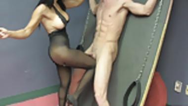 Sex Therapist Jasmine Shy 4 Preview BIG TITS HANDJOB NYLONS