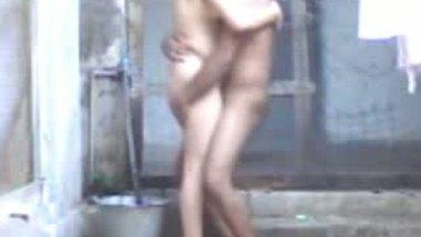 Village bhabhi outdoor porn video with next door lover