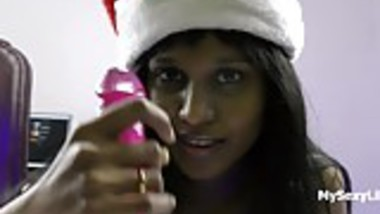 Xmas XXX Porn Indian Babe Horny Lily Christmas Special