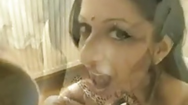Hot Indian Blow Job