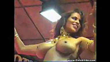 Hot stripper dances during an award function