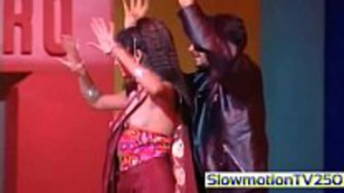 Celebrity nipple slip during a dance perfromance