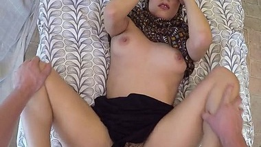 Arab Babe Lucia Cant Get Enough Of Big Cock