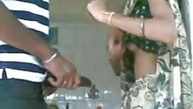 Hot Indian girlfriend getting seduced for quickie