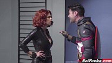 Porn parody of Captain America and Black Widow