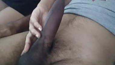 GF teasing my cock