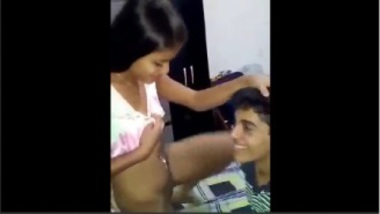 Desi babe wants her brother to suck her pussy