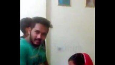 Hot Punjabi Maid Sucking Boss' Dick
